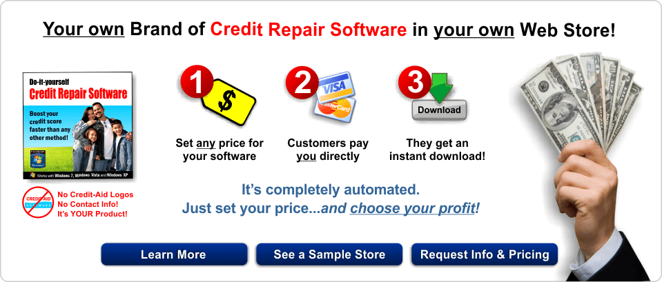 Credit aid reseller make money with private label credit repair white label credit repair software solutioingenieria Image collections