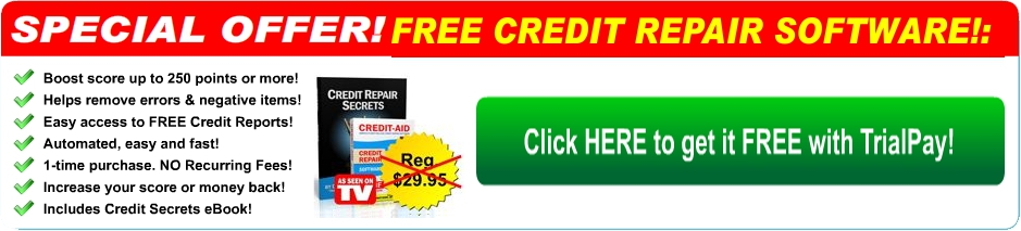 Free Credit Repair Software